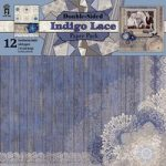 Hot Off The Press – Indigo Lace Papers 12in x 12in Double Sided Paper Pad