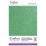 Crafter's Companion Luxury Cardstock Pack – Green