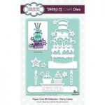 Creative Expressions Paper Cuts 3D Collection Party Cakes Craft Die