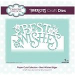 Creative Expressions Die Best Wishes Edger | Paper Cuts Collection
