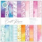 Craft Consortium The Essential Craft Papers 12in x 12in Watercolours | 30 Sheets