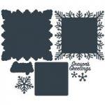 Paper Boutique Doily Die Set Season's Greetings | Set of 8
