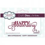 Sue Wilson Die Happy Anniversary Sentiment | Mini Expressions