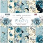 Paper Boutique 8in x 8in Paper Pad 160gsm 36 Sheets | Moonlight Song