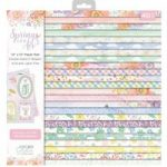 Crafter's Companion Nature's Garden 12in x 12in Paper Pad | Spring Is In The Air
