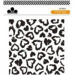 Craftwork Cards 6in x 6in Embossing Folder Go Wild