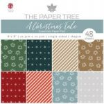 The Paper Tree 8in x 8in Essentials Pad 160gsm 48 Sheets | A Christmas Tale