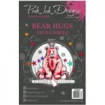 Pink Ink Designs A5 Clear Stamp Set Bear Hugs | Set of 16