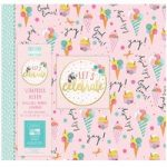 First Edition Scrapbook Album Let's Celebrate Let's Party 12in x 12in | 20 Refillable Pages