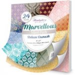Hunkydory Marvellous Mirri Pad 8in x 8in Deluxe Damask | 24 Sheets