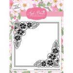 Apple Blossom 6in x 6in Embossing Folder Seasonal Flowers Winter Violets