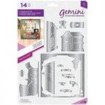 Gemini Die Build-A-Scene Christmas Create A Card Classic Christmas | Set of 14