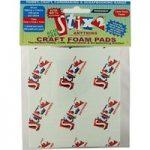 Stix2 Craft Foam Pads Super Value Pack | 5mm x 5mm x 1mm