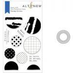 Altenew Trendy Circles Stamp & Die Bundle