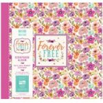 First Edition Scrapbook Album Forever Free Blooms 12in x 12in | 20 refillable pages