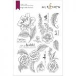 Altenew Stamp Set Engraved Flowers | Set of 13