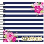 Simply Creative Scrapbook Album Nautical Flowers 12in x 12in | 40 Pages