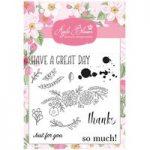 Apple Blossom Stamp Set Floral Sentiment Card   Set of 12
