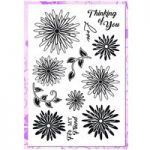 Dawn Bibby Creations Stamp Set Dainty Daisies | Set of 12