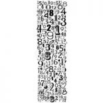 Woodware Clear Stamp Set Numbers