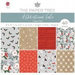 The Paper Tree 6in x 6in Paper Pad 160gsm 40 Sheets | A Christmas Tale