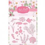 Apple Blossom 6in x 6in Stencil Fish | Build It Collection