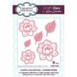 Creative Expressions Craft Dies Layered Roses by Lisa Horton Set of 9 | Floral Collection