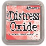 Ranger Distress Oxide Ink Pad 3in x 3in by Tim Holtz | Abandoned Coral