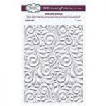 Creative Expressions 3D Embossing Folder – Sublime Swirls