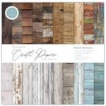 Craft Consortium The Essential Craft Papers 12in x 12in Wood Textures | 30 Sheets