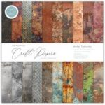 Craft Consortium The Essential Craft Papers 12in x 12in Metal Textures | 30 Sheets