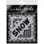 Hunkydory For the Love of Masks Sparkling Snowflakes | 5.5in x 5.5in