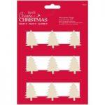 Create Christmas Christmas Tree Silhouette Pegs | Pack of 9