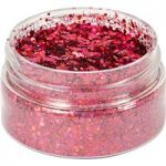 Cosmic Shimmer Holographic Glitterbitz Cherry Red