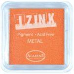 Aladine Izink Pigment Inkpad Metallic Yellow