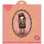 Santoro Gorjuss 12in x 12in Paper Pack 16 Foiled Sheets | A Gorjuss Party