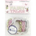 Dovecraft Premium Fairy Tales Wooden Frames | Pack of 12