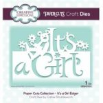 Creative Expressions Die It's a Girl Edger | Paper Cuts Collection