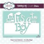 Creative Expressions Die It's a Boy Edger | Paper Cuts Collection
