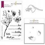 Altenew Dotted Blooms Stamp Die & Stencil Bundle