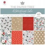 The Paper Tree 8in x 8in Paper Pad 160gsm 40 Sheets | A Christmas Tale