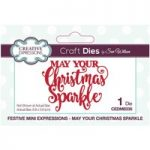 Sue Wilson Die Set May Your Christmas Sparkle | Festive Mini Expressions