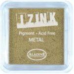 Aladine Izink Pigment Inkpad Metallic Gold