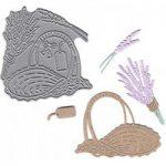 Joanna Sheen Signature Dies Lavender Basket