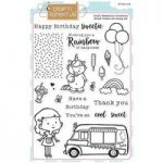 Crafti Potential A5 Stamp Set Sweet Treats Set of 21 | Crafti Critters Collection