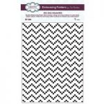 Creative Expressions Embossing Folder Zig Zag Squares