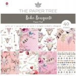 The Paper Tree 12in x 12in Paper Pad 160gsm 40 Sheets | Boho Bouquets