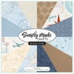 Simply Made Crafts Travel Keepsakes 12in x 12in Paper Pad | 24 Sheets