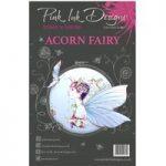 Pink Ink Designs A5 Stamp Set Acorn Fairy | Set of 4