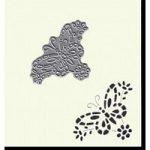 Joanna Sheen Signature Dies Butterfly Detail Corner